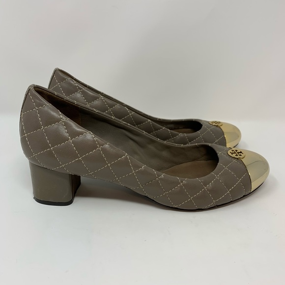 Tory Burch Shoes - Tory Burch Kaitlin Quilted Cap-Toe Pump
